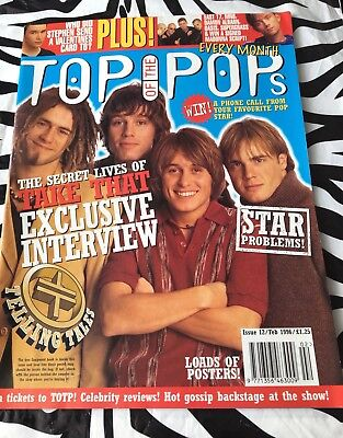 Top Of The Pops Magazine - Take That / Janet Jackson