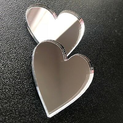 Heart Shaped Mirror Heart Shape Wall Mirror Shatterproof Acrylic Mirror Custom S