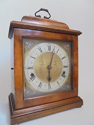 Elliott 8 Day Bracket Clock Westminster Chime