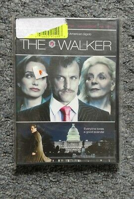 The Walker with Woody Harrelson DVD, 2008, NEW
