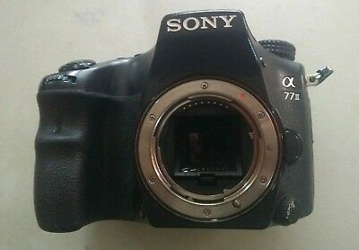 Sony Alpha a77 II 24.3MP Digital SLR Camera and Sony 16-50 f/2.8 Lens
