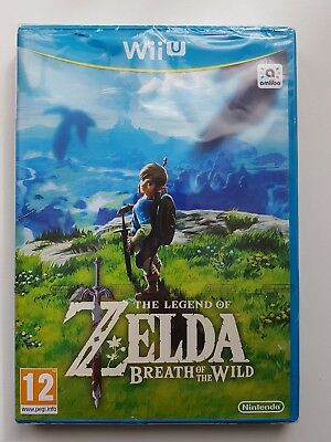 The Legend of Zelda : Breath of the Wild WII U / NEUF , SOUS BLISTER , VER. FR /