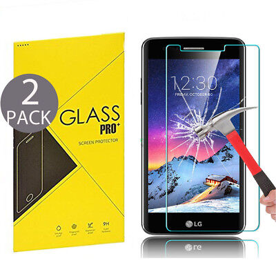 2x High-Quality Premium Real Tempered Glass Film Screen Protector for Phone NEW