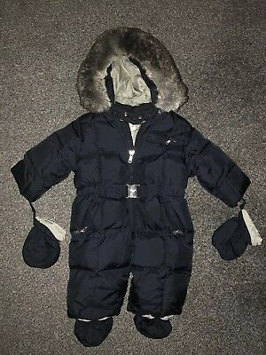 5d6d18d82 BABY BOYS ARMANI Snowsuit Up To 3 Months - £32.99