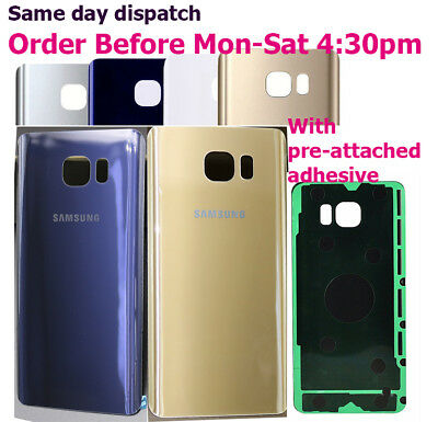 Original Rear Glass Back Battery Cover for Samsung Galaxy Note 5 N920 Note5