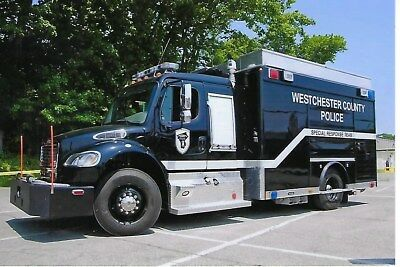 Westchester County Police Dept Unit 9097 4X6 Color Photo ~ 2014 Freightliner