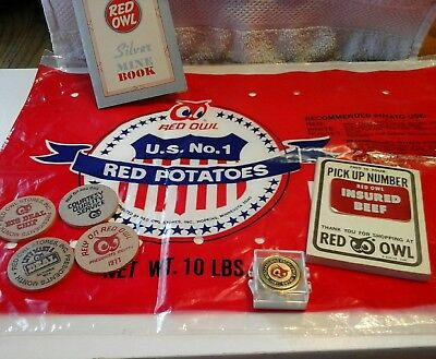 Lot of 9 Red Owl grocery store items