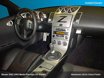 Nissan 350 Z Fit 2003 2004 2005 Interior Aluminum Kit Automatic Or