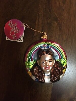 kurt adler - wizard of oz Polonaise collection - dorothy ornament - pre owned