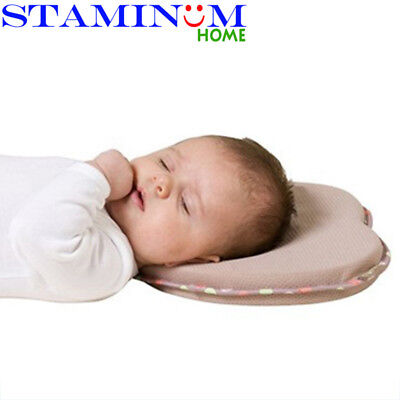 Ultrasoft Baby Head Shaping Support Memory Foam Pillow Head Positioner