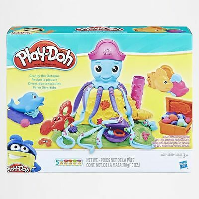 NEW Play-Doh Cranky The Octopus