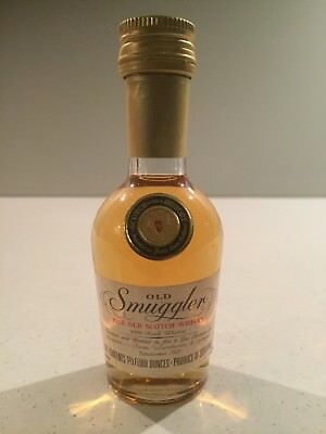 Old Smuggler Scotch Whisky Mini 50mls From 1970's