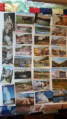 Vintage lot of postcards ~ 29 Random Postcards from the 1920s to '50s - Historic