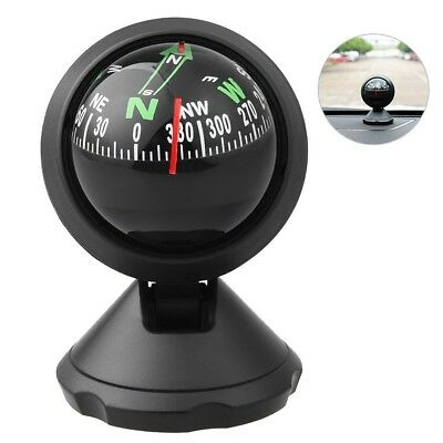 CARGOOL Car Compass Universal Auto Compass with Adhesive and Delicate