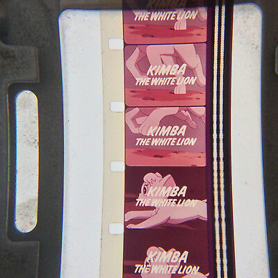 16mm film KIMBA THE WHITE LION rare 60s anime Japan TV show English Osamu Tezuka