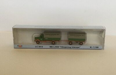 N Scale Truck & Trailer Brand New