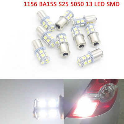 1156 BA15S S25 5050 13 LED Car Turn Signal Lights Brake Bulb P21W R5W Lamp DC24V