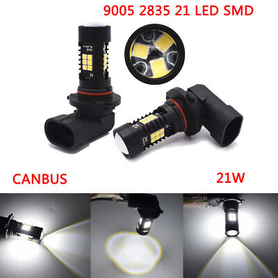 9005 2835 21 SMD 21W LED Canbus Car Reversing Turn signal Tail Light BULB White