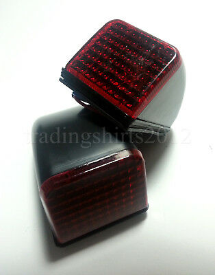 Set of 2 pcs RED Roof Cab Marker Lights Lamps for VOLVO FH FM Version 2 (02-09)