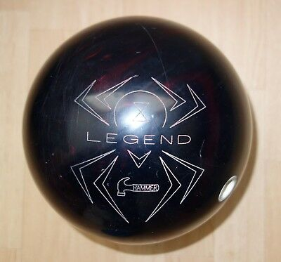 "Bowlingball ""Hammer Black Widow Legend"" in 15 lbs"