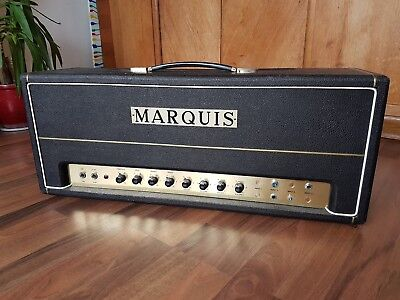 Marquis Plexi Made in Germany 50 Watt (Stramp) Handwired Super Lead JMP