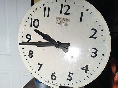 Smiths 1950's Factory Clock
