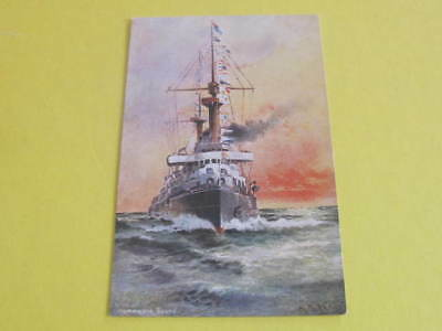 Ship Postcard Artist drawn buy A Stead Homeward bound