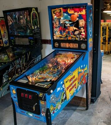 Flipper Pinball Rocky and Bullwinkle and friends