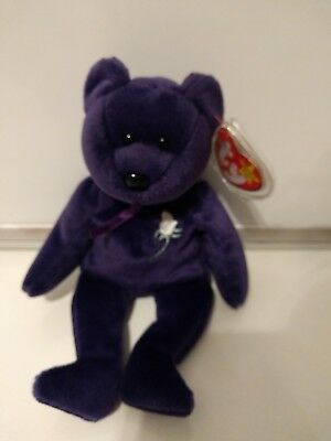 8bf6bcd9240 RARE TY Mint 1st Edition Princess Diana 1997 Retired Beanie Baby NO ...