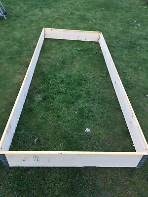Extra Large Pallet Collar Children's Sand Pit Vegetable Patch Guinea Pig Run?