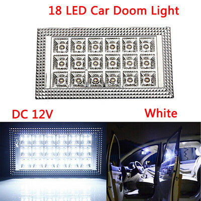 18LED Van Caravan Boat Truck Car Interior Roof Ceiling Dome Cabin Light Lamp 12V