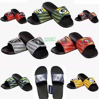 NFL Team Men's Legacy Shower Sport Slide Flip Flop Sandals