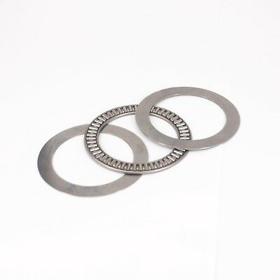 (1)65x90x3mm Thrust Needle Roller Bearing AXK6590 ABEC-1 Each With Two Washers