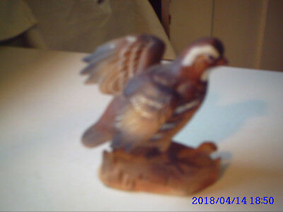 """Vintage Collectible  Bob  White Quail #323-4"""" High.made In Japan,  Preowned"""
