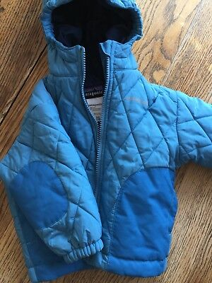 Patagonia Infant Hooded Jacket 12 Mos