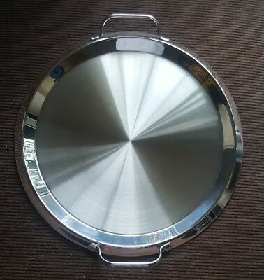 "Cuisinart Stove Top 13"" Stainless Dlc7 Pro Grande Griddle- Never Used/exl Cond!"