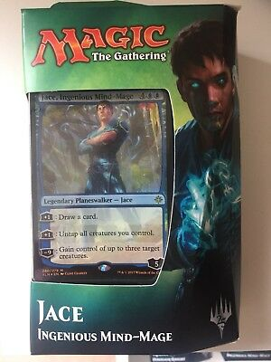 Magic the Gathering Ixalan Planeswalker deck - Jace Ingenious Mind-Mage NEW