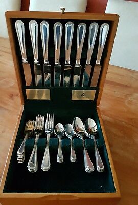 Viners 40 piece x 8 setting Guild Silver Collection Canteen of Cutlery