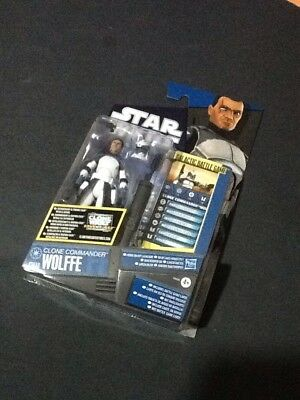 Star Wars The Clone Wars: Clone Commander Wolffe (2011) Action Figure CW48