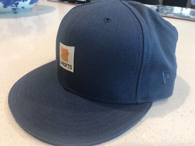2dd9a898e5a63 Undefeated UNDFTD x New Era Hat Fitted 7 1 4 Navy Success Hard Work Sold