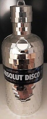 Absolut Vodka - Disco 0,7 L Falsche mit Case Neu + Versiegelt - Limited Edition