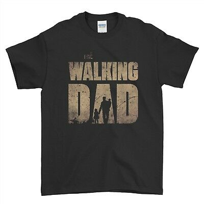 The Walking Dad Funny Dead Fathers Day Grandad Gift New Men T Shirt Top Tee