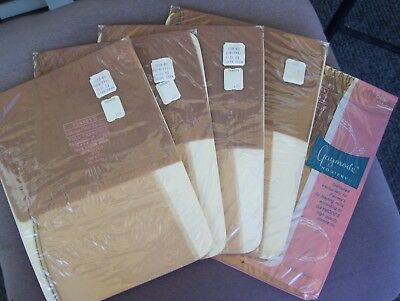 Vintage Penny's Ladies Nylon Seam Stocking ~ 5 Pairs ~ Size 8 1/2