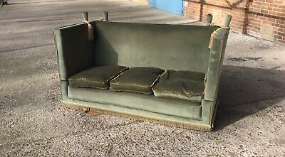 An Antique Knoll Sofa for Restoration