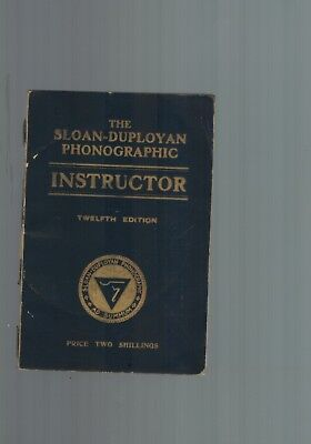 Vintage retro pitmans shorthand instructor new era edition book rare vintage book the sloan duployan phonographic instructor early shorthand fandeluxe Choice Image