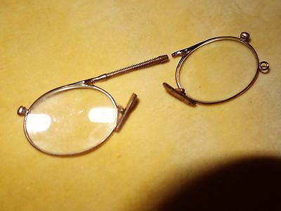 Antique vintage 19th century Pince-Nez glasses spectacles - A/F FOR REPAIR