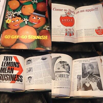 Fruit Magazine vintage retro advertising trade review rare restaurant book old