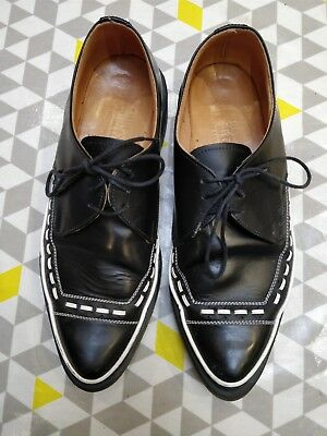 Geoge Cox vintage shoes preowned Rockabilly robot creepers Size UK 9 Hot!