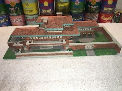 City Sights Frank Lloyd Wright FREDERICK C. ROBIE HOUSE Replica Model 1998
