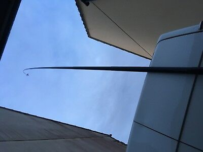 SPIDERBEAM 12M 40FT fibreglass poles x2